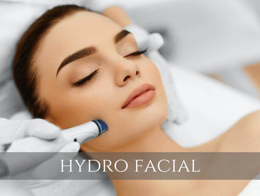 vanity rooms hydro facial